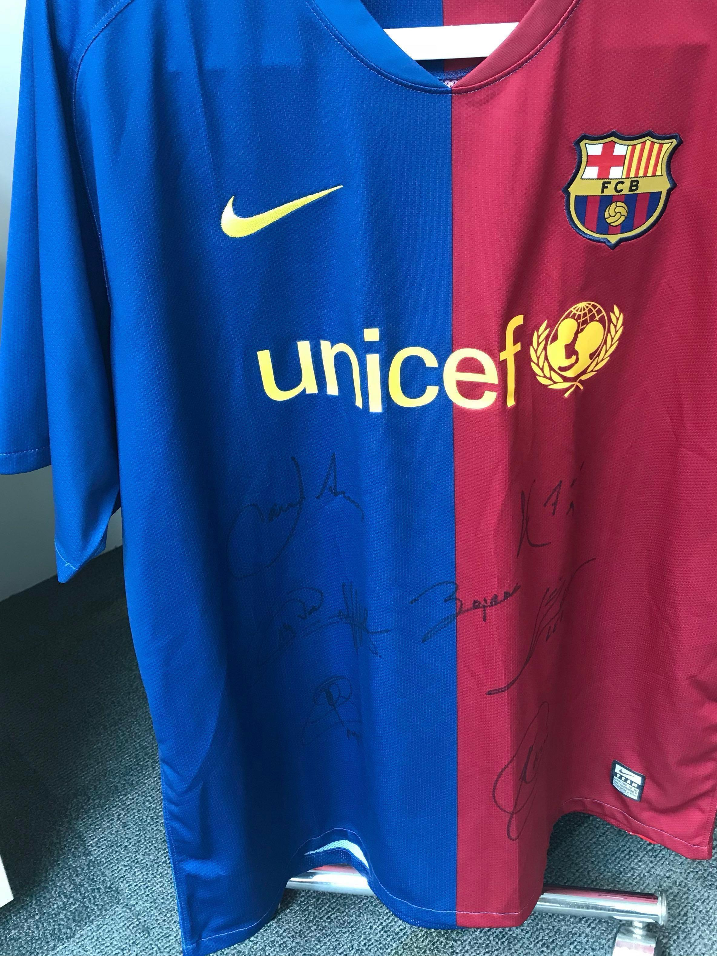 fc barcelona jersey top 2008 2009 sports sports apparel on carousell fc barcelona jersey top 2008 2009