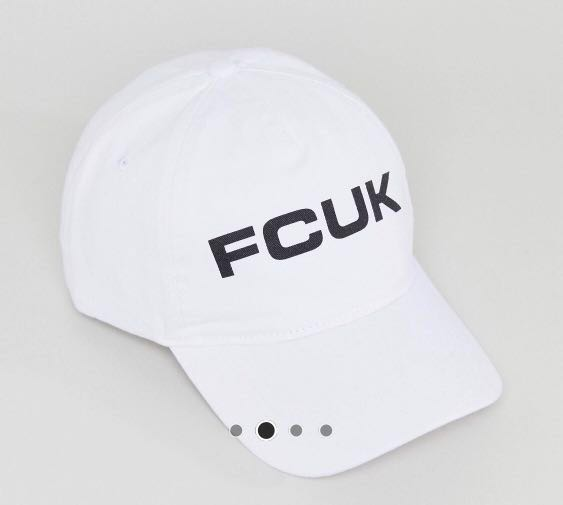 f19bae963dd53 FCUK French Connection Logo Cap