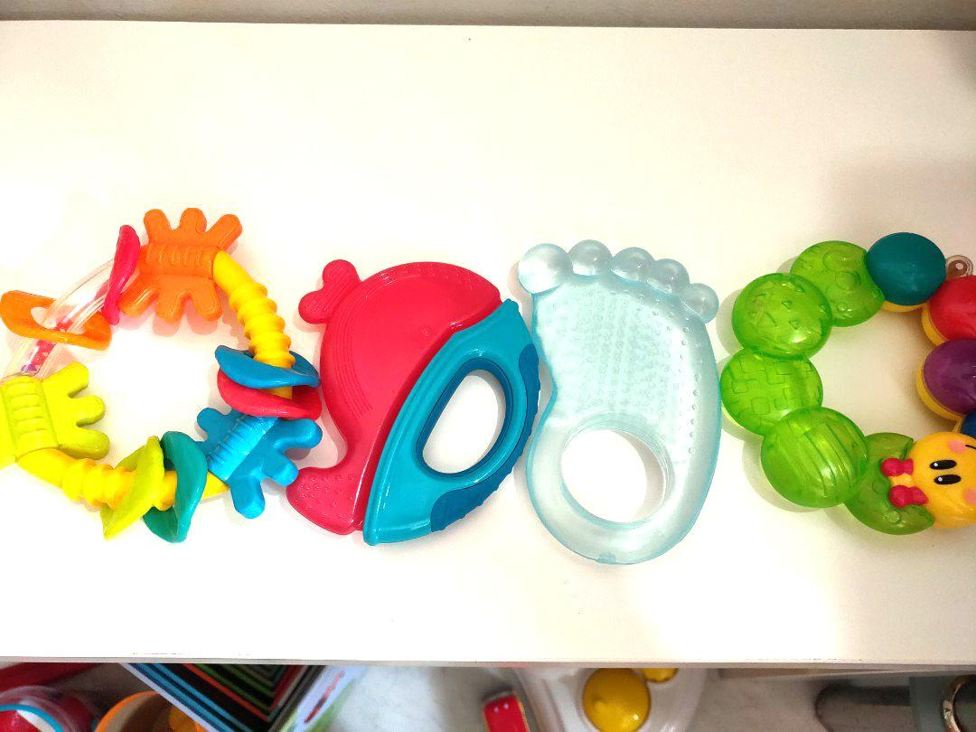 Fisherprice . Mothercare . Playgro . Sophie . Cotton On Toys Rattle Teether !