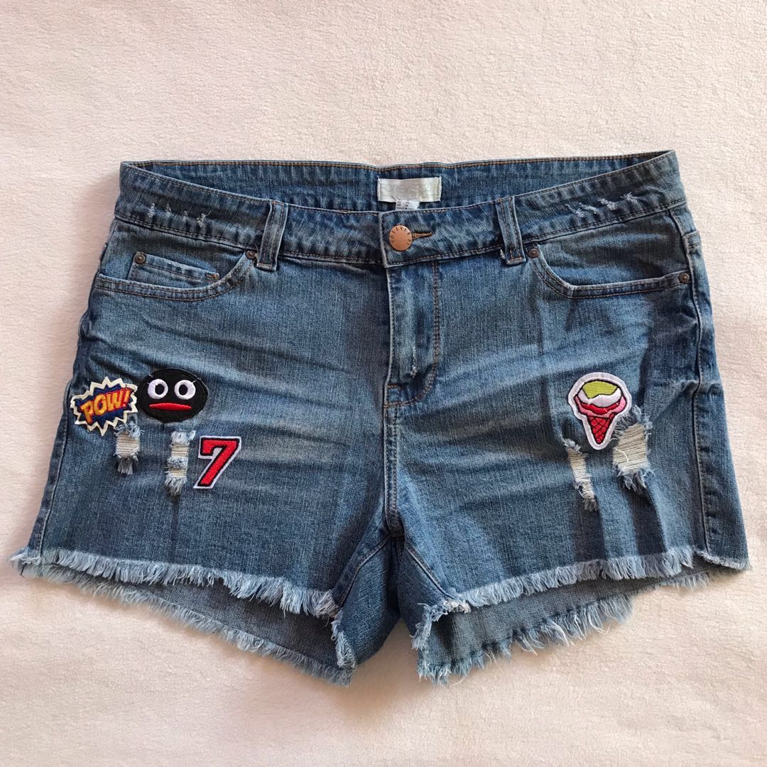 ee8faa28925 Forever 21 Plus Size Denim Shorts