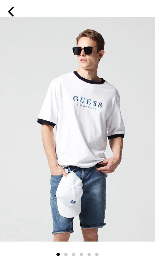 bda220c0e4c4 Guess X Generation Los Angeles TShirt, Men's Fashion, Clothes, Tops ...