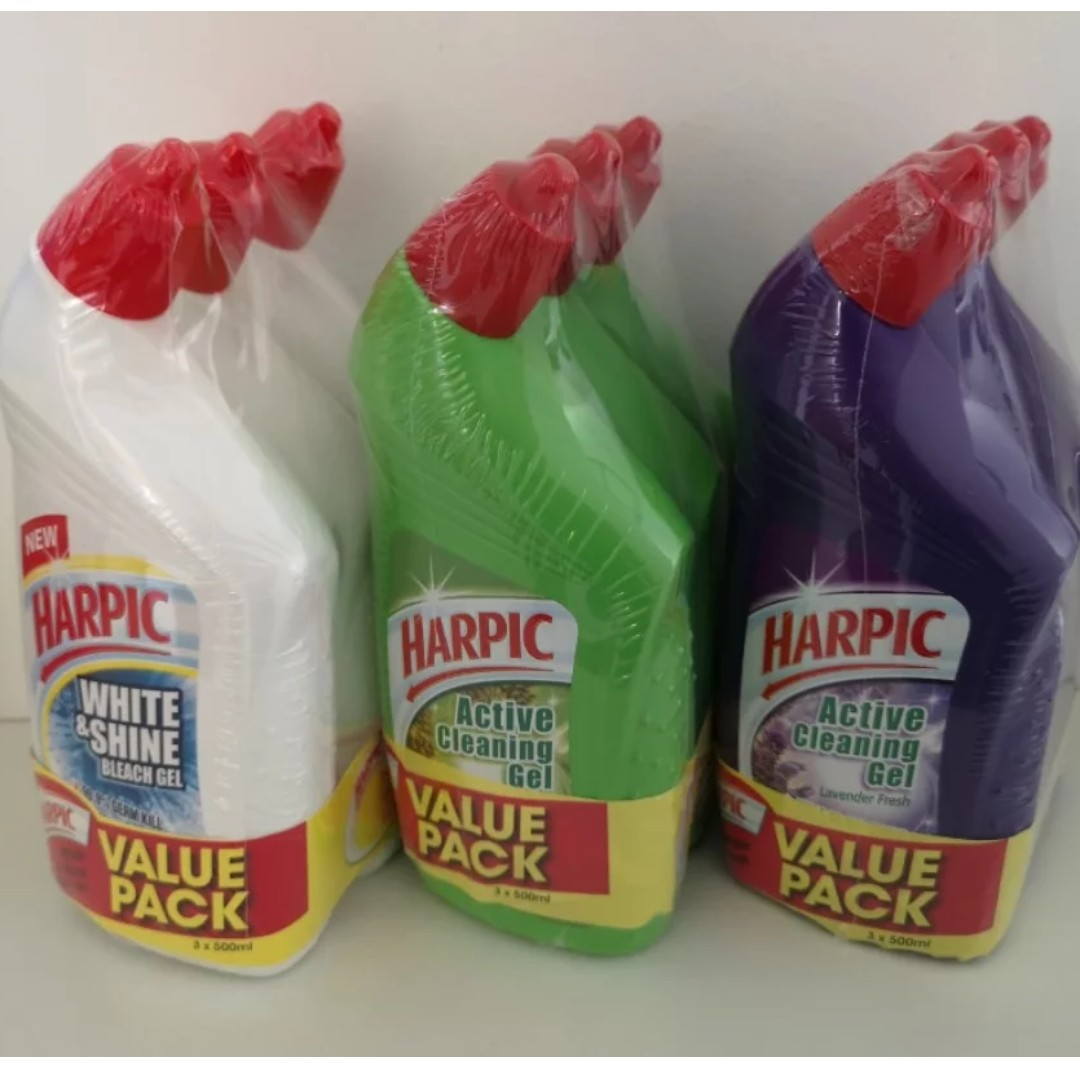 Harpic Active Cleaning Gel 1 20 Per Bottle Everything Else On