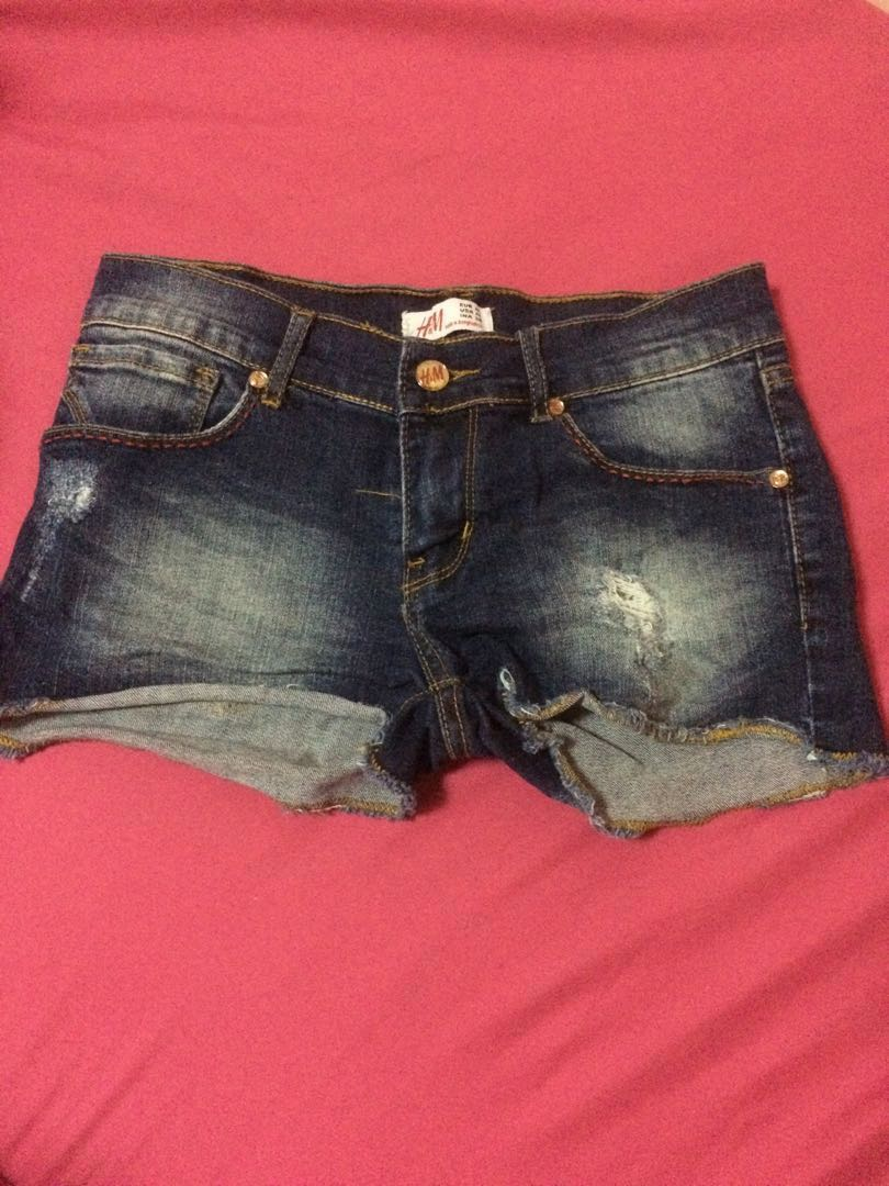 8fcfc334a H&M Denim Shorts #1212, Women's Fashion, Clothes, Pants, Jeans ...