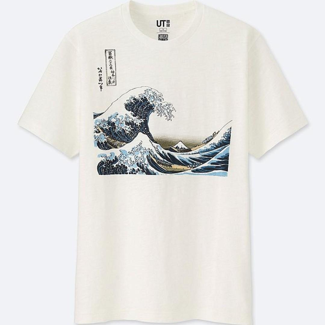 Hokusai Blue Tee (S)