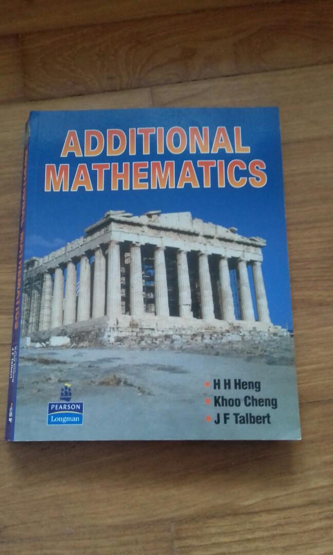 IGCSE Additional Mathematics Textbook, Books & Stationery