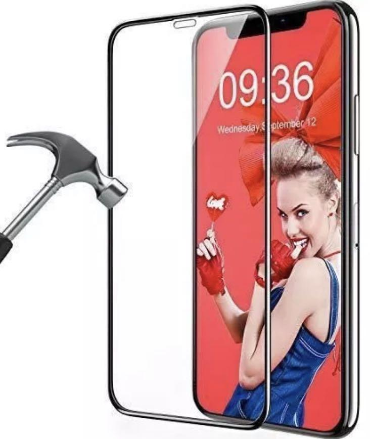 Iphone X/XR full coverage tempered glass screen protector