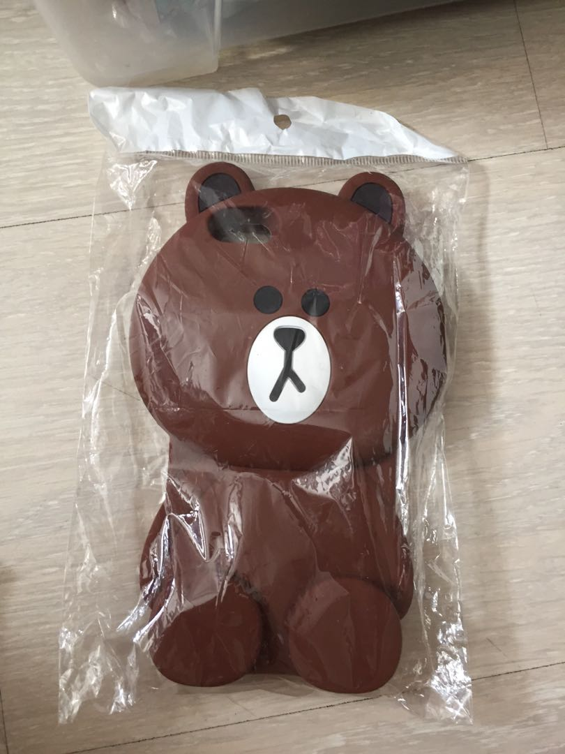 new product 3a74d e9222 line brown bear phone case