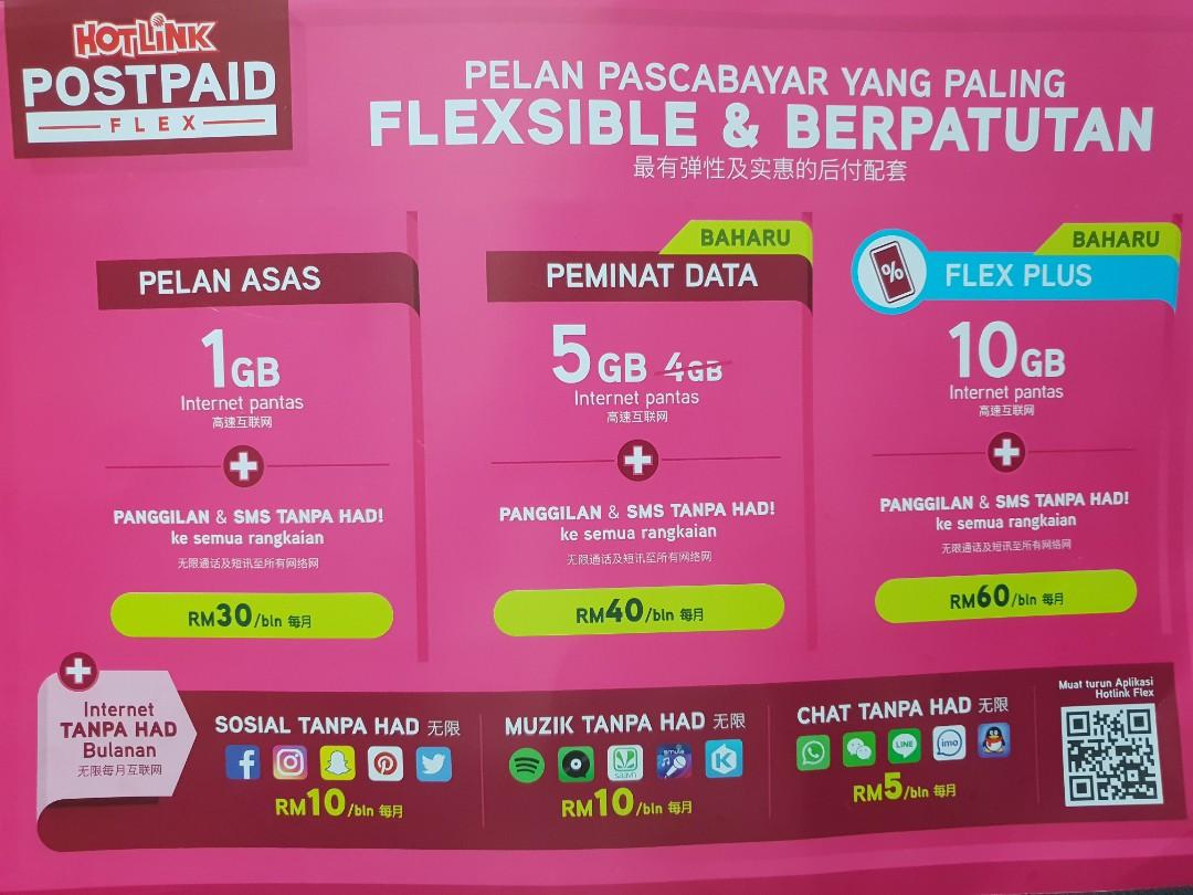 Maxis Postpaid Plans