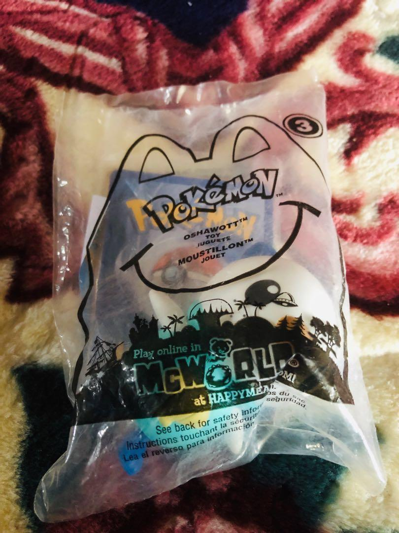 MCD USA Pokemon Oshawott with free pokemon card(Limited Edition) #MY1212