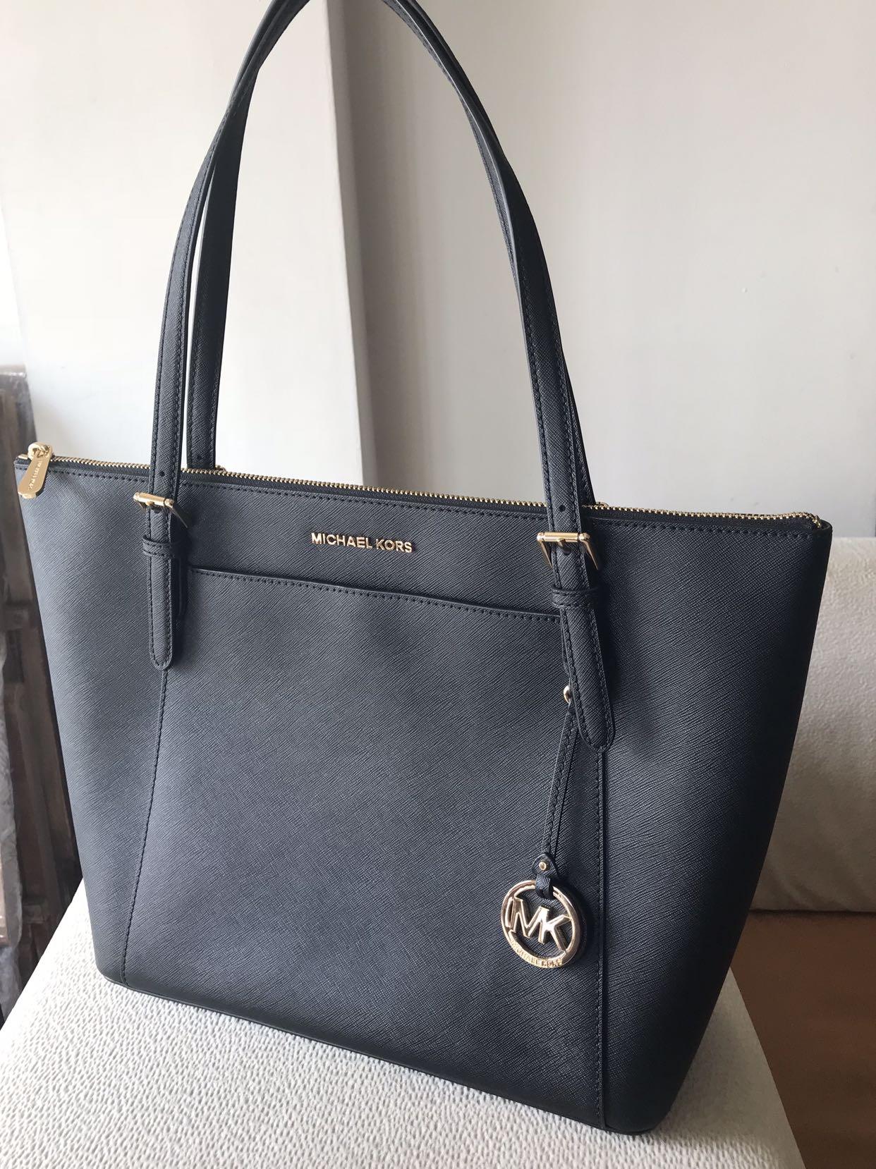 22ab370cd Michael Kors Tote Bag (Ciara Top Zip Black), Women's Fashion, Bags &  Wallets, Handbags on Carousell