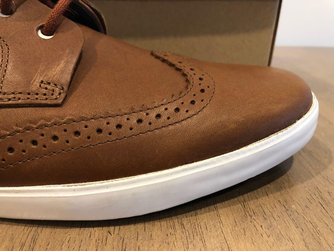 NEW Camper camel leather shoes - size 46 EU - never worn
