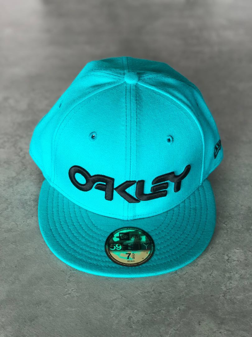 NEW Oakley x New Era 59Fifty Cap Hat - Size 7 5 8 f781f713d92