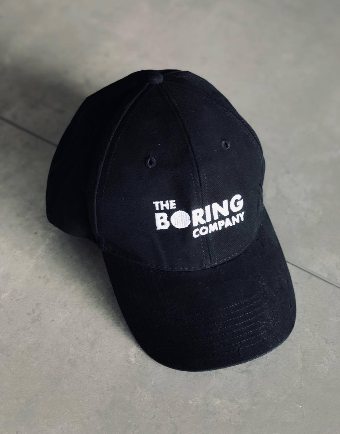 37221f8b747c3 NEW The Boring Company Hat Cap - Limited Edition Elon Musk Snapback ...