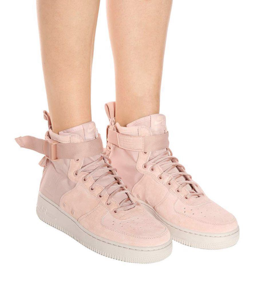 5f905023f55c0 Nike SF Air Force 1 Mid - Womens - Particle Beige Desert Sand ...