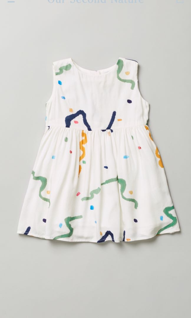 ccde19f82857 Our Mini Nature Treasures Gathered Dress