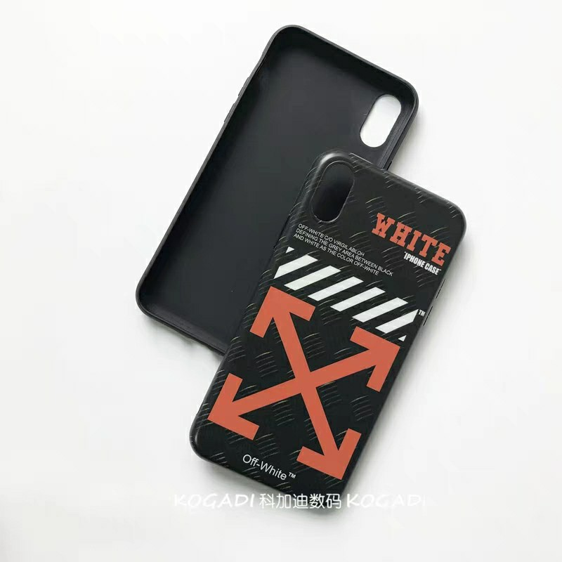 hot sale online f5016 8f58d [PO] Off White iphone 6/7/8/X/XS/Max/XR Full cover case
