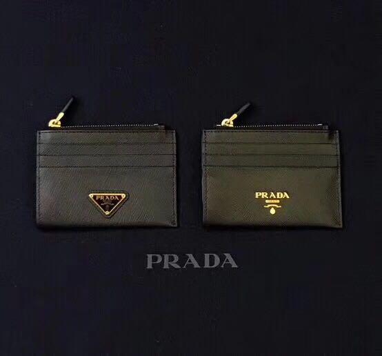 99d989c83c2b Prada Saffiano leather credit card holder, Women's Fashion, Bags ...