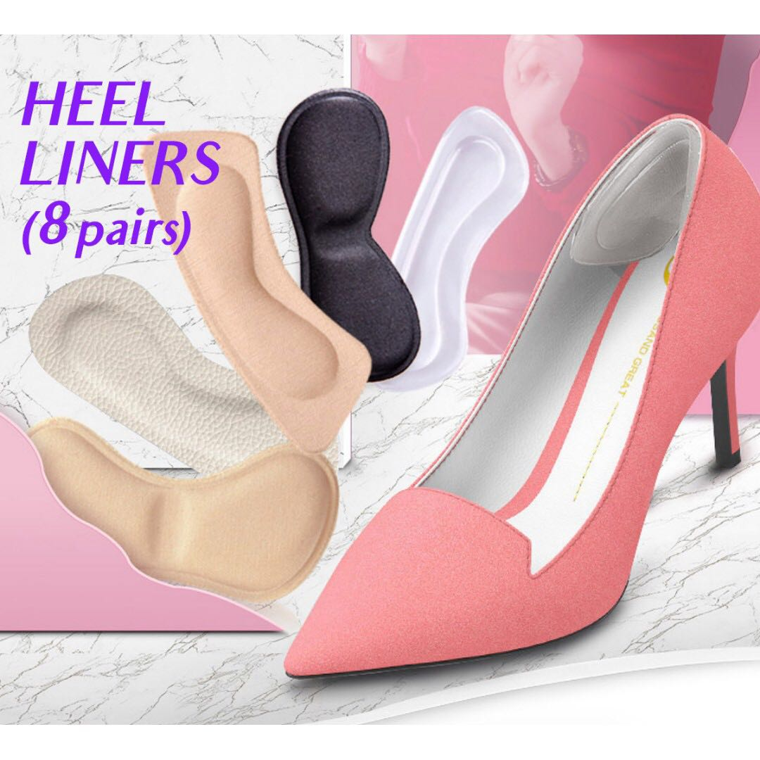 Preorder: Cushioned Heel Liners (8