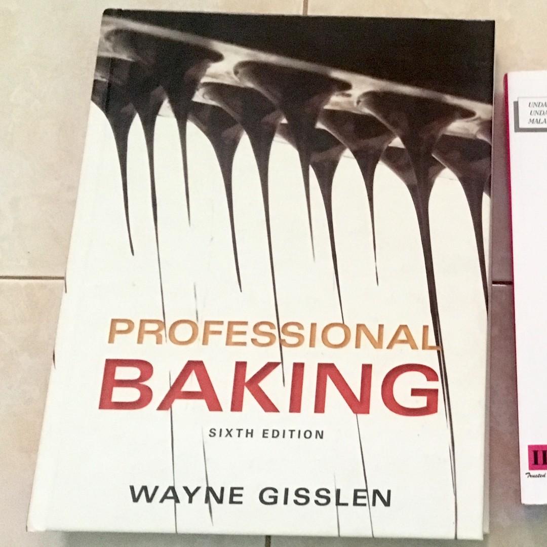 Professional Baking 6th Edition Wayne Gisslen [Hardcover], Buku di Carousell