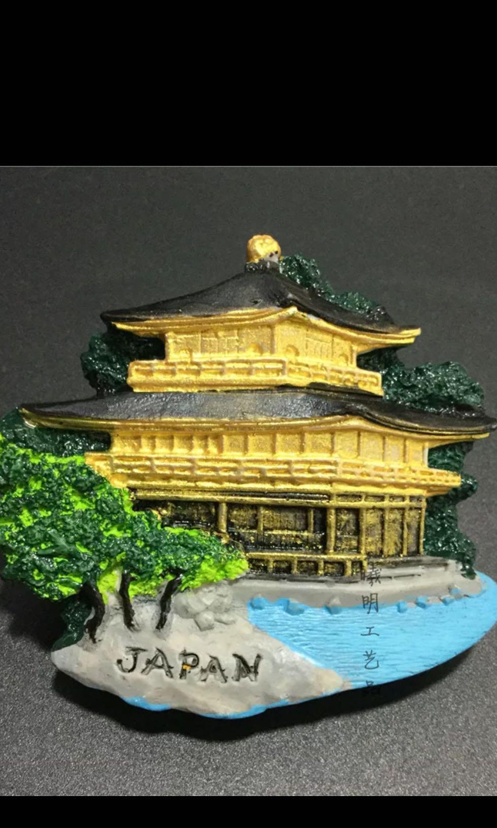 Promo 1 pcs fridge magnet japan tokyo kyoto temple