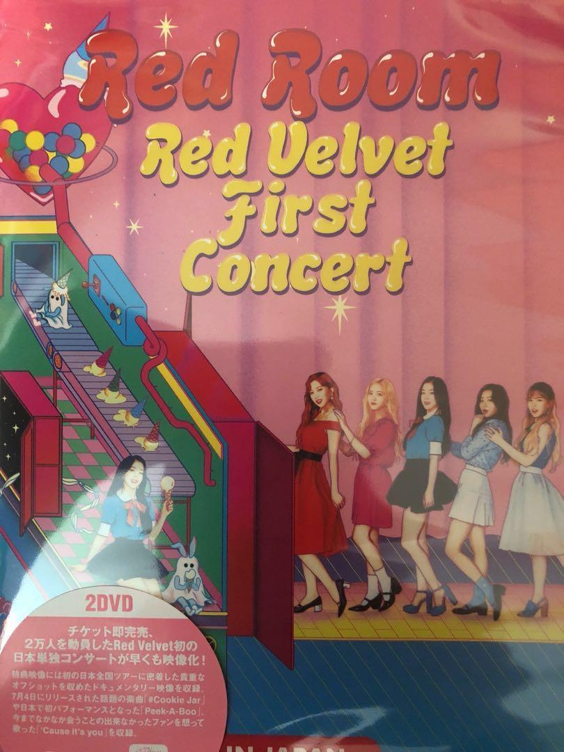 Red Velvet Red Room in Japan (japan concert), Entertainment