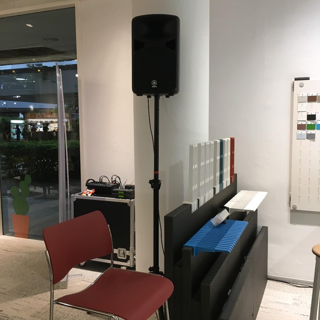 RENTAL SOUND SYSTEM FOR COMPANY CHRISTMAS PARTY/ RENTAL Professional Sound  System / PA System / Audio System / Music Speakers / Sound System / RENTAL