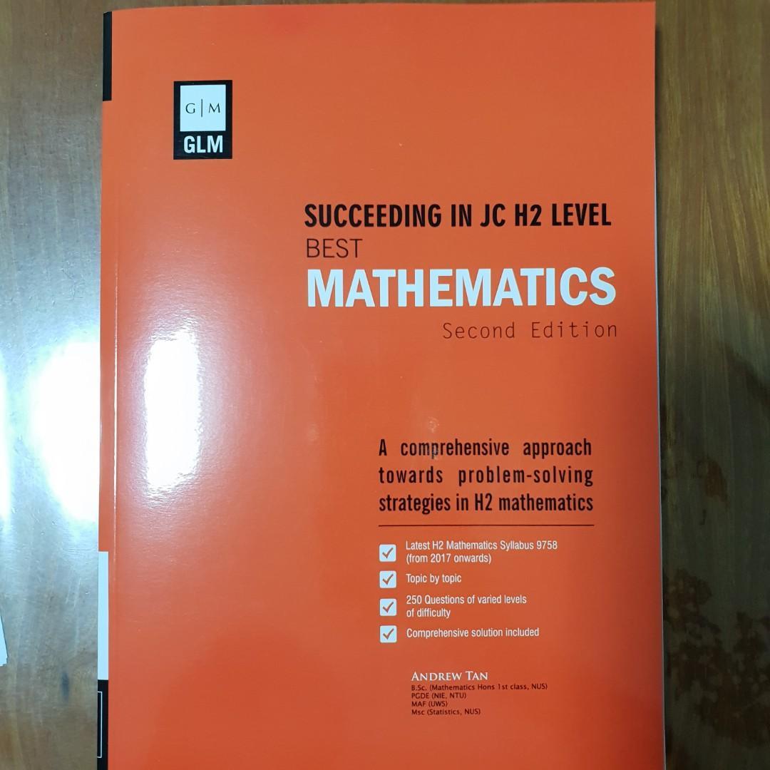 Succeeding in JC H2 Level Best Mathematics, Books