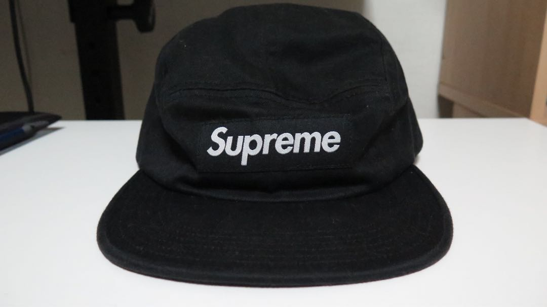 9901cce96bf Supreme camp cap leather buckle strap