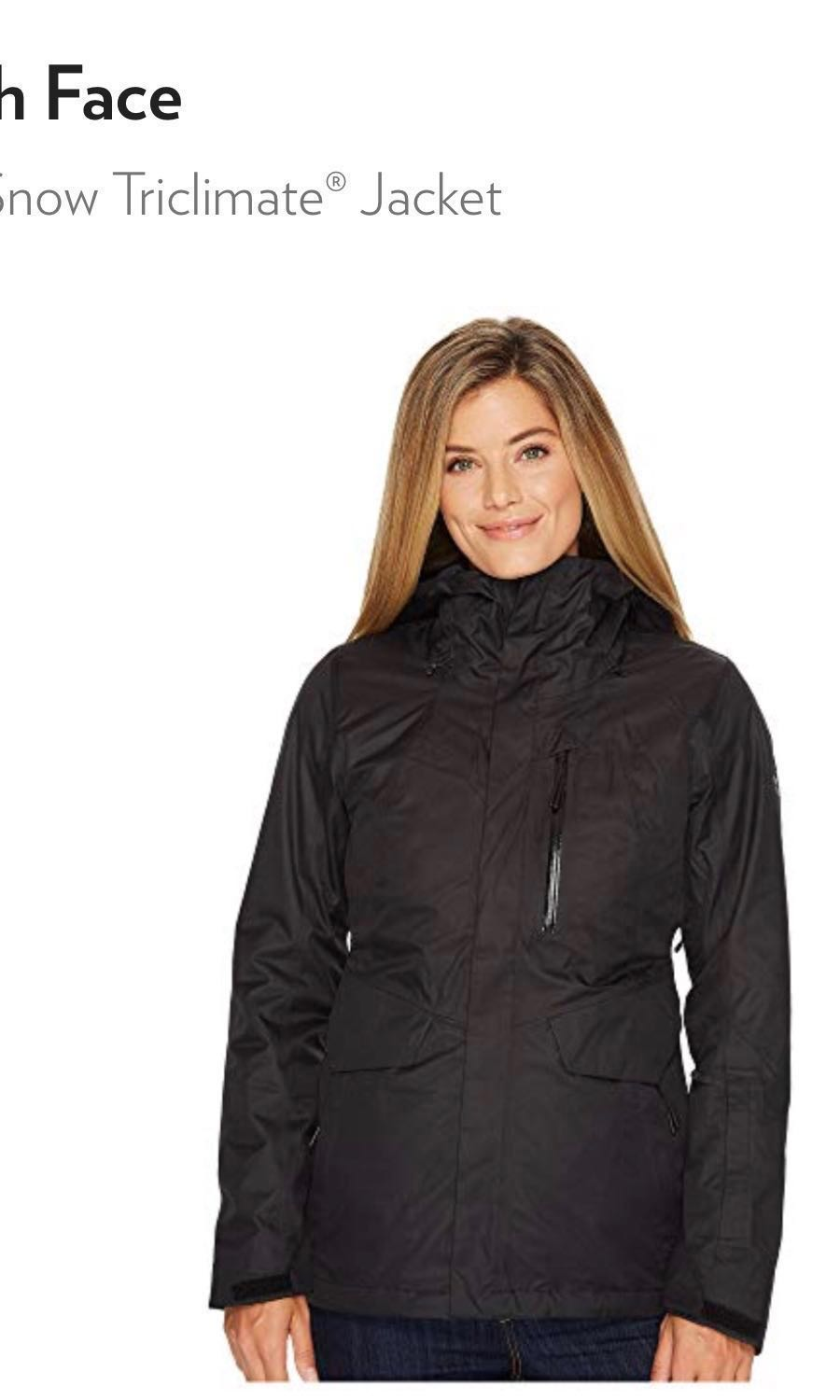 76037d3a51 The North Face Women s ThermoBall Snow Triclimate Jacket