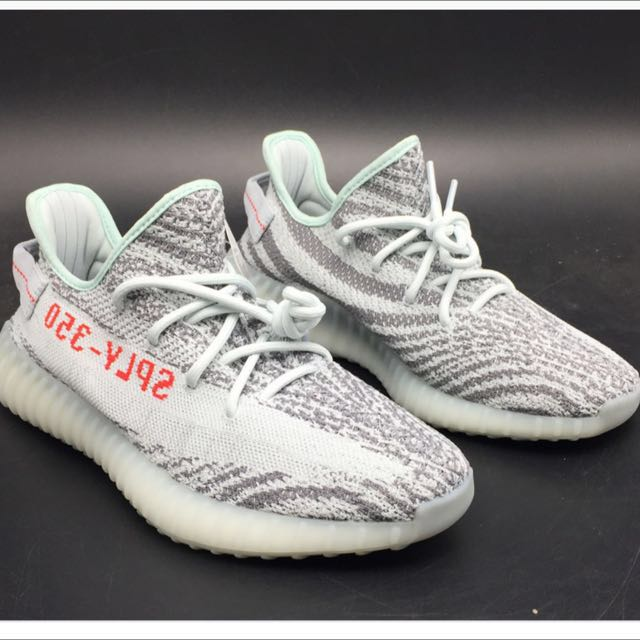 b57f1baa23ab4 UK 7.5 US 8 - Adidas Yeezy Boost - Blue Tint
