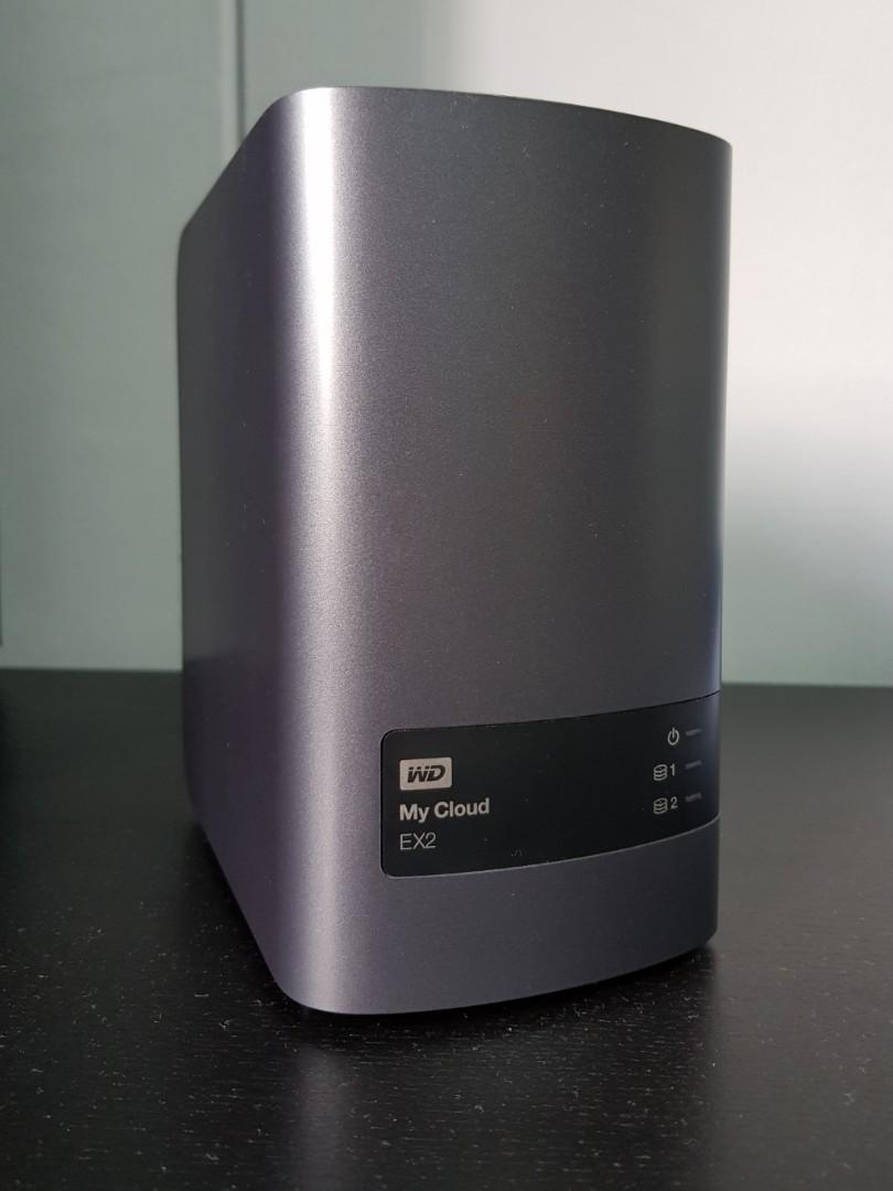 WD My Cloud EX2 NAS, Electronics, Others on Carousell