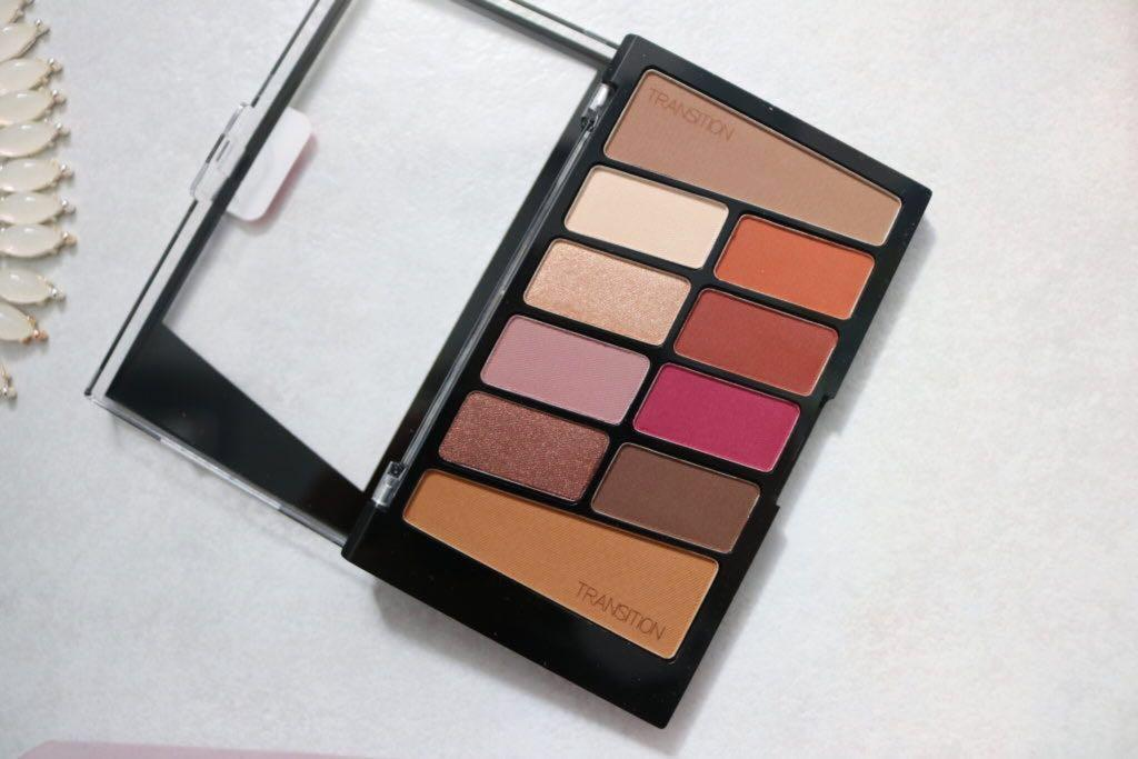 Wet n Wild Color Icon Eyeshadow 10 Pan Palette in Rosé in the Air