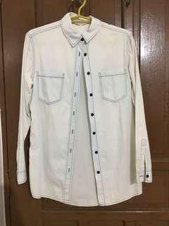 PRELOVED: Long Sleeves Cotton Denim