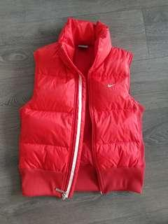 Nike Red Puffer Vest