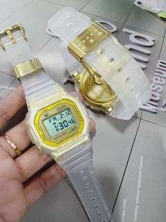 Transparent Strap Gshock