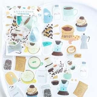 Beautiful Life Coffee Break Deco Stickers Pack