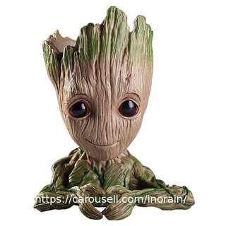 Guardians of the Galaxy Baby Groot Heart Planter / Flower Pot / Decor / Pen Holder