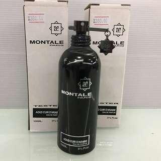 Montale Paris Aoud Cuir D'Arabie Tester Unit Original Edp 100ml