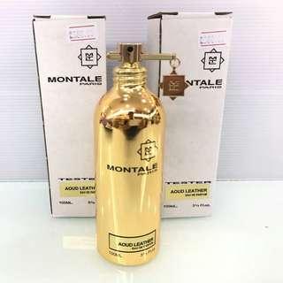 Montale Paris Aoud Leather Tester Unit Original edp 100ml
