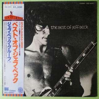 """【舊版""""Rock, Blues""""黑膠唱片】Jeff Beck ~ The Best Of Jeff Beck (1978 Japan)"""