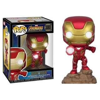 Funko Pop - Marvel Avengers 3 Infinity war Iron man light up