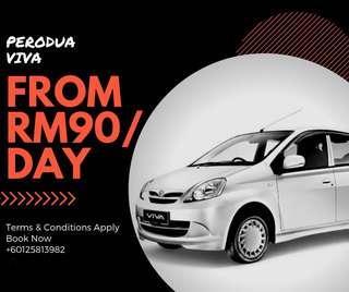 Perodua Viva for Rent Sewa