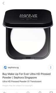 Ultra HD Microfinishing Pressed Powder