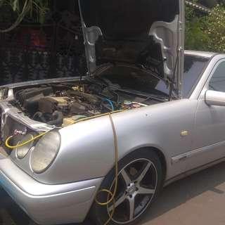 Perbaikan kompresor dan kondensor ac mobil new eyes bersama KING ac mobil panggilan