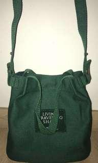 2 Ways Canvas Sling Bag [Instocks]