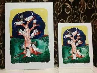 Art print (Our Tree)