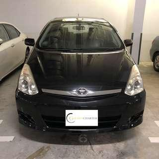 Toyota Wish PROMOTIONAL RENTAL RATES FOR Grab/Ryde/PersonalV
