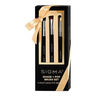 SIGMA BEAUTY Shade + Pop Brush Set (Limited Edition) BRAND NEW & AUTHENTIC [PRICE IS FIRM, NO SWAPS]