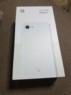 Google Pixel 3 white 128gb