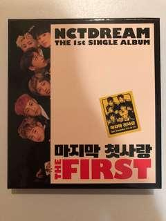 nct dream the first album
